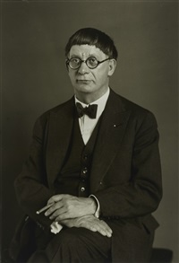 der architekt [hans poelzig] by august sander
